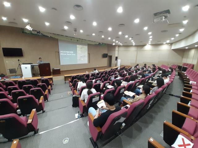 강의를 듣는 교육생들
