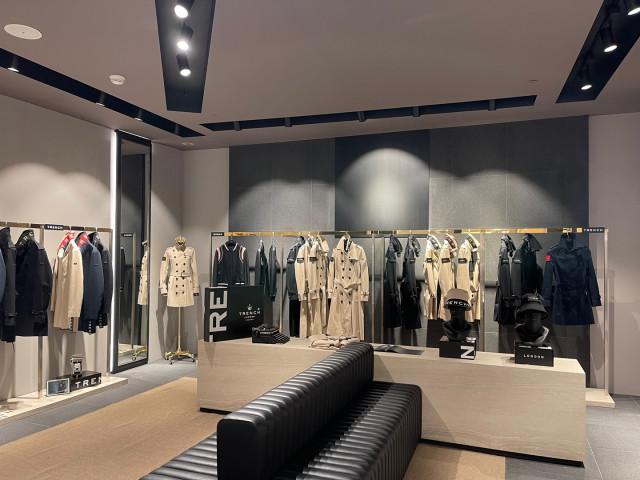트렌치 런던 롯데 백화점 에비뉴엘 잠실 3층 매장