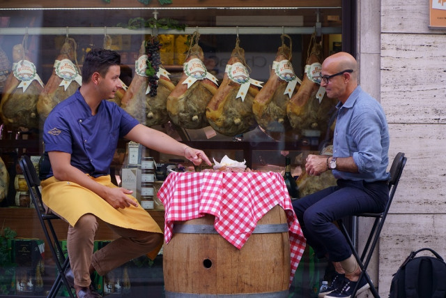 CNN이 '스탠리 투치의 이탈리아 맛기행'을 방영한다