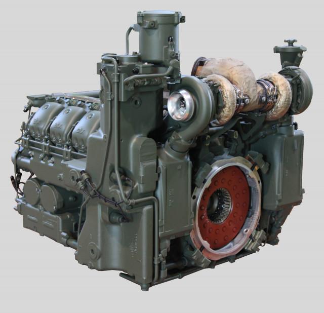 K9 자주포 디젤 엔진