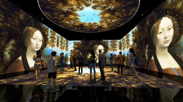 레오나르도 다빈치: 다빈치의 꿈 전시장