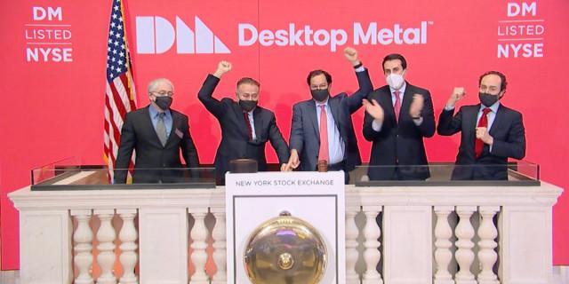왼쪽부터 EnvisionTEC의 Al Siblani CEO와 Desktop Metal의 Ric Fulop CEO
