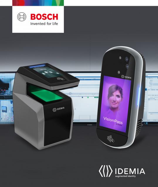 아이데미아, 10억달러 규모 생체측정 접근 통제 시장 진출 위해 보쉬 빌딩 테크놀로지와 글로벌 파트너십 발표