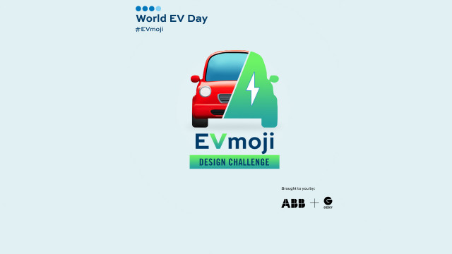 ABB와 Green.TV가 세계 전기차의 날(9월 9일)을 맞아 국내 아동·청소년을 대상으로 신나는 '지속 가능한 모빌리티의 미래'를 강조하며 전기차 이모지(그림 문자) 제작 챌린...