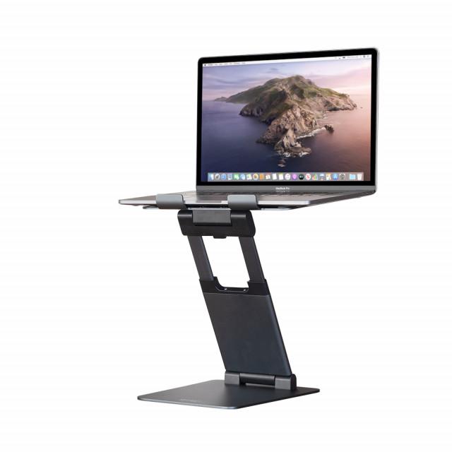 바이퍼럭스가 출시한 클레버 이지뷰 엘리베이션 알루미늄 노트북 거치대