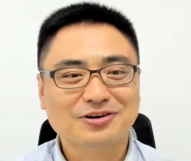 토크콘서트 참여 후기를 이야기하는 주한중국대사관 팡쿤 정무공사(zoom 캡처 화면)