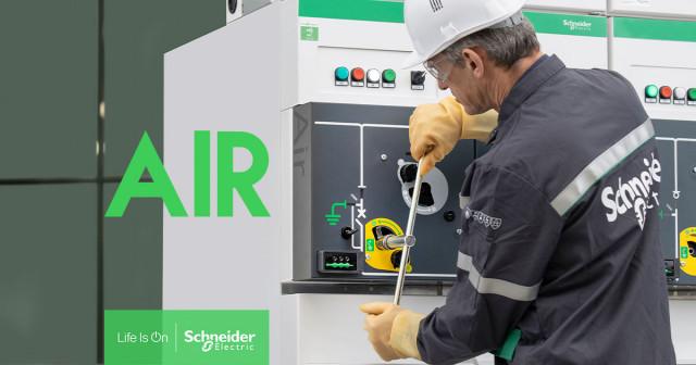글로벌 기업 슈나이더 일렉트릭이 SF6(육불화황) 가스를 사용하지 않는 친환경 및 디지털 고압 스위치 기어 SM AirSeT™를 출시했다