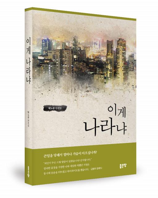 박노문 지음, 좋은땅출판사, 348쪽, 1만3000원