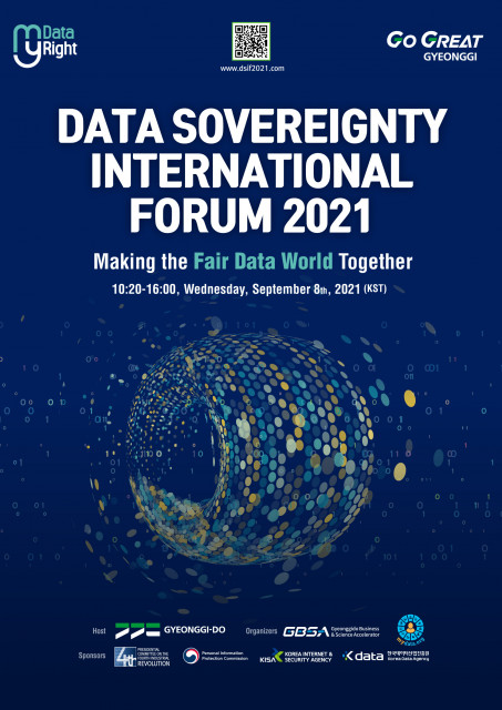 The Data Sovereignty International Forum 2021 is held on September 8 as a virtual event under the sl...