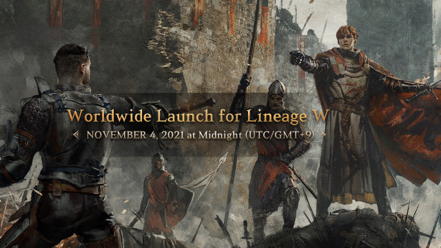 Lineage W launches at midnight of November 4 (UTC/GMT+9) in 13 countries and regions simultaneously.