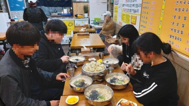 한끼버스 청소년 식사