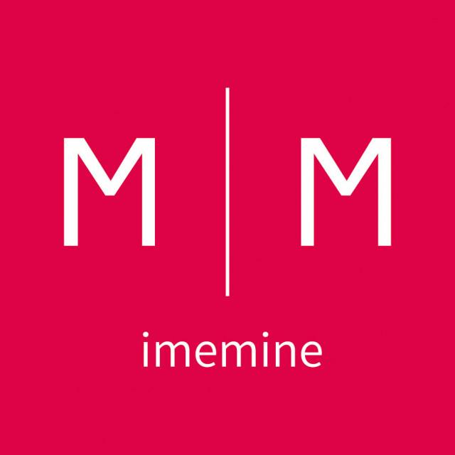 아이미마인 로고